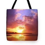 Beautiful Bright Sunset Tote Bag