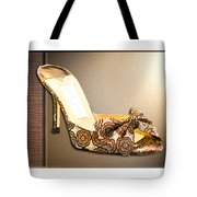 Beautiful Brocade Slippers For A Ball Tote Bag