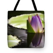 Beautiful Bud Reflection Tote Bag