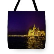 Beautiful Budapest Parliament Tote Bag