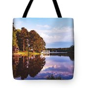 Beautiful Bunn Lake - Zebulon, North Carolina Tote Bag
