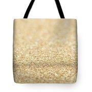 Beautiful Champagne Gold Glitter Sparkles Tote Bag