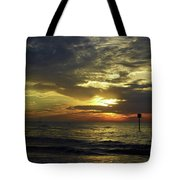 Beautiful Clearwater Sunset Tote Bag