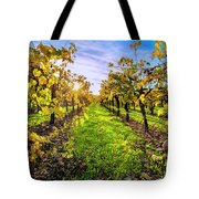 Beautiful Colors On The Vines Tote Bag