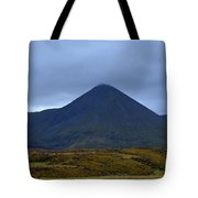 Beautiful Countryside In Cuillen Hills With A Large Mountain  Tote Bag