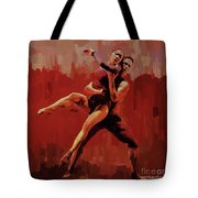Beautiful Couple Dance 02 Tote Bag