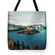 Beautiful Crater Lake Tote Bag