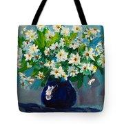 Beautiful Daisies Tote Bag by Patricia Awapara