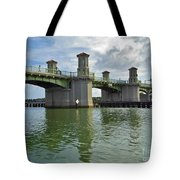 Beautiful Day At The Bridge Of Lions Tote Bag