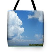 Beautiful Day In Tahiti Tote Bag