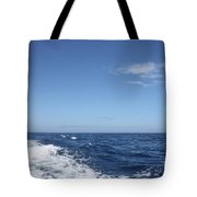 Beautiful Day On The Atlantic Ocean Tote Bag