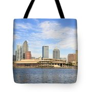 Beautiful Day Tampa Bay Tote Bag