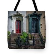 Beautiful Doors On Bull Street Tote Bag