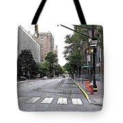 Beautiful Downtown Hoboken  Tote Bag