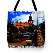 Beautiful Downtown Solvang Tote Bag