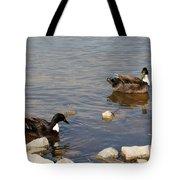 Beautiful Ducks Tote Bag