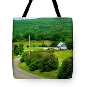 Beautiful Farm In Windsor Forks Tote Bag