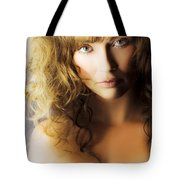 Beautiful Fashion Model Tote Bag by Jorgo Photography - Wall Art Gallery