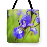 Beautiful Flower Iris Tote Bag