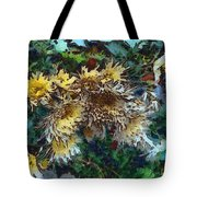Beautiful Flowers In A Group Tote Bag