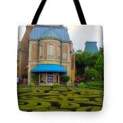 Beautiful Garden At France Pavilion Tote Bag