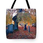 Beautiful Historic Camp Hill Cemetery Halifax Nova Scotia Tote Bag