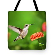 Beautiful Hummingbird Tote Bag