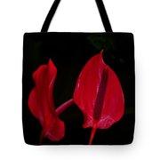 Beautiful In Red Tote Bag