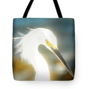 Beautiful In White Tote Bag