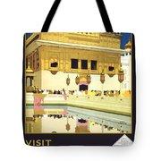 Beautiful India Poster Tote Bag