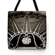Beautiful Italian Metal Scroll Work 2 Tote Bag