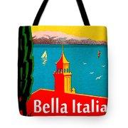 Beautiful Italy, Lake Garda, Riviera Tote Bag