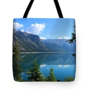 Beautiful Lake Minnewanka Tote Bag
