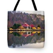 Beautiful Landscape Near Lake Lure North Carolina Tote Bag