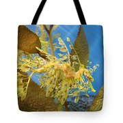 Beautiful Leafy Sea Dragon Tote Bag by Brooke Roby