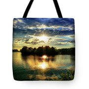 Beautiful Light Of The Golden Hour Tote Bag