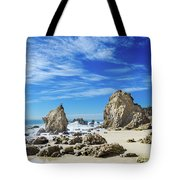 Beautiful Malibu Rocks Tote Bag