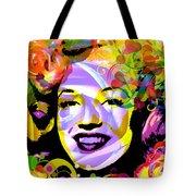 Beautiful Marilyn Monroe Tote Bag