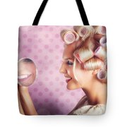 Beautiful Model With Fresh Makeup And Hairstyle Tote Bag by Jorgo Photography - Wall Art Gallery