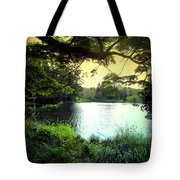 Beautiful Mountain Lake Tote Bag