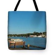 Beautiful Mylor Bridge Tote Bag