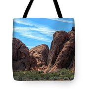 Beautiful Nature Landscape Valley Of Fire  Tote Bag