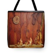 Beautiful Night Artwork With Wooden Waste Tote Bag