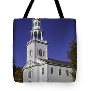 Beautiful Old First Church Tote Bag