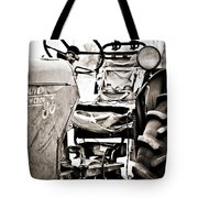 Beautiful Oliver Row Crop Old Tractor Tote Bag by Marilyn Hunt