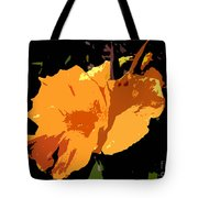 Beautiful Orange Work Number 19 Tote Bag