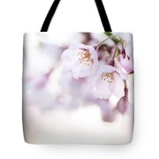 Beautiful Pink Cherry Blossom Tote Bag