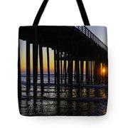 Beautiful Pismo Beach Sunset Tote Bag