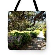 Beautiful Pond Path Tote Bag