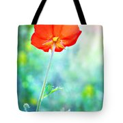Beautiful Poppy Flower Tote Bag
